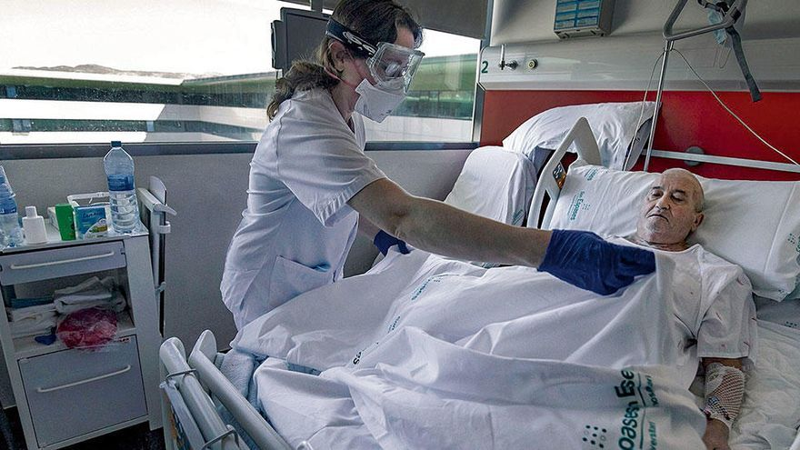 Knochenjob an vorderster Corona-Front: Krankenpfleger auf Mallorca