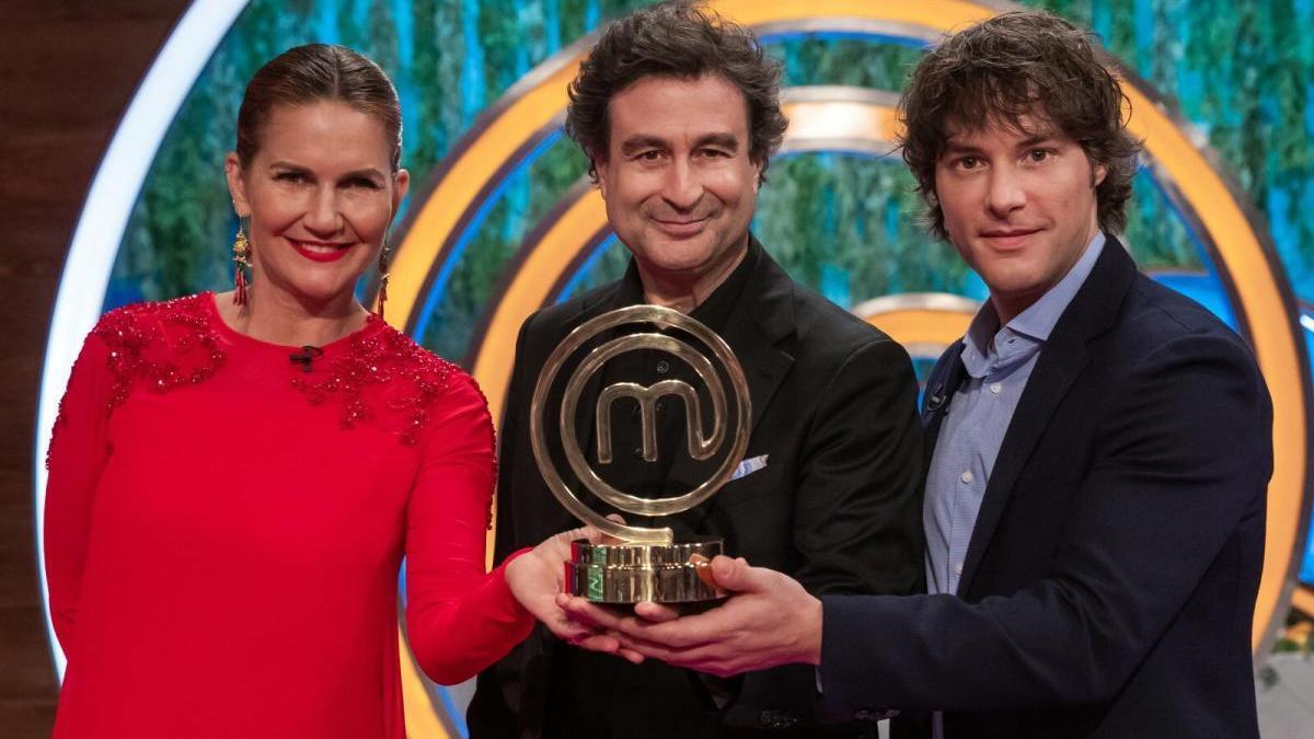 Jordi Cruz, Samantha Vallejo-Nágera y Pepe Rodríguez.