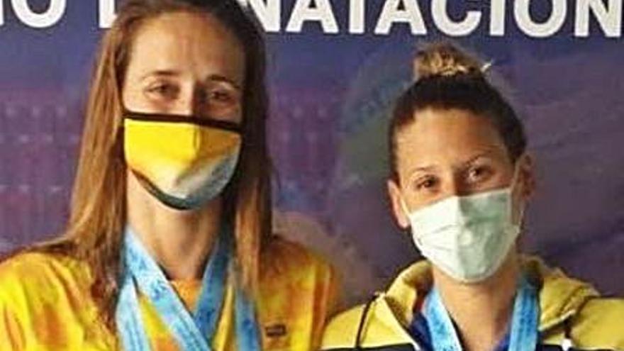 Tres medallas nacionales para las nadadoras del club Trencaones de Alzira