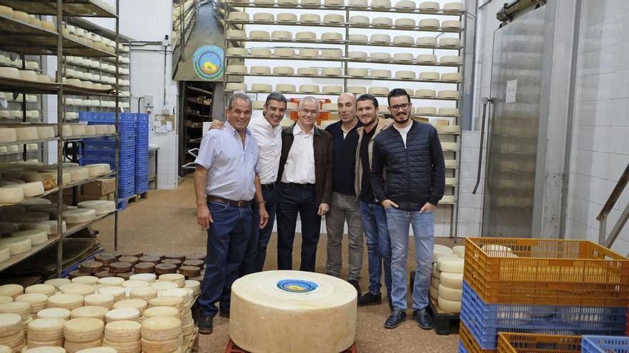 El queso más grande del Archipiélago es de Gran Canaria: 174 kilos