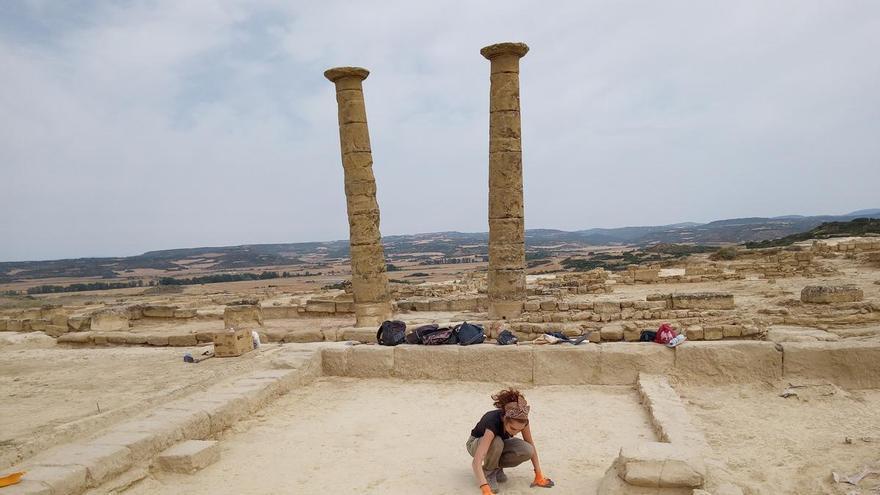 Aragón vive un verano de hallazgos arqueológicos