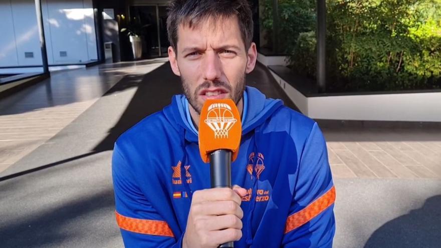 Sam Van Rossom habla claro sobre la situación del Valencia Basket