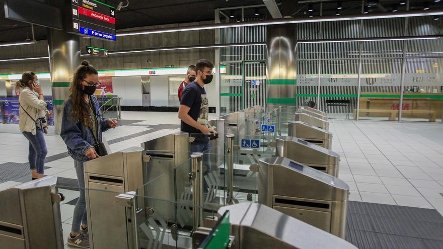 El metro de Málaga recupera 86% de los viajeros que tenía antes de la covid