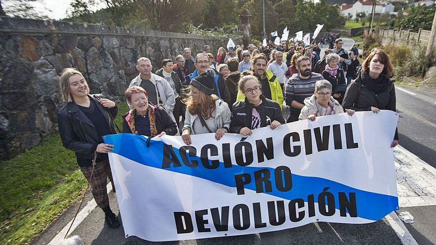 """Memorialistas convocan una protesta para """"defender Meirás"""" de la """"rapiña"""" de los Franco"""