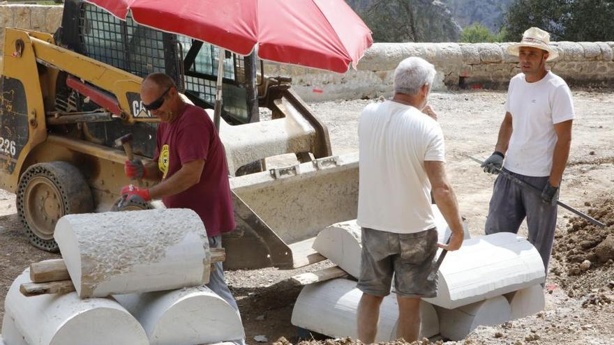 Mallorcas dritthöchste Trockensteinmauer ist eingeweiht