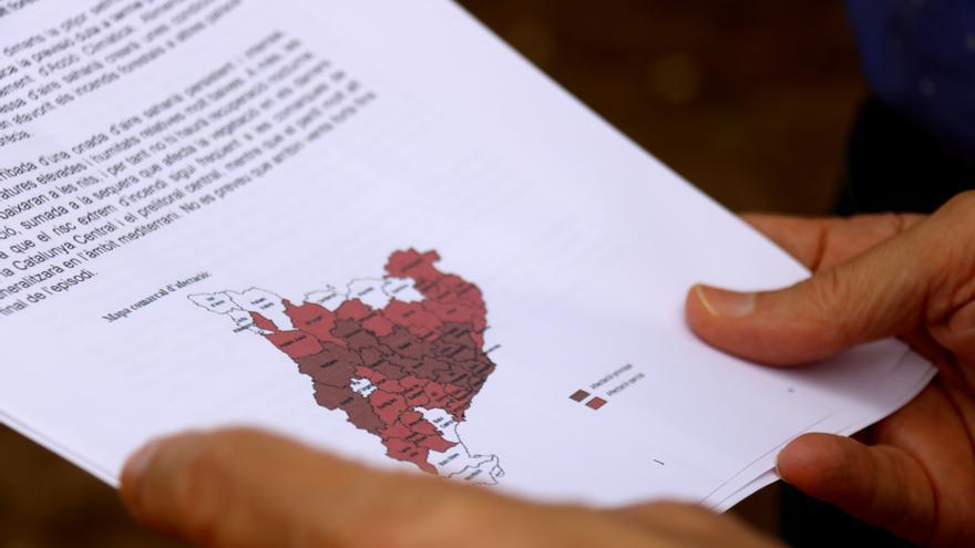 Aquests són els 91 municipis de l'àmbit de Regió7 en fase d'alerta per risc d'incendi forestal