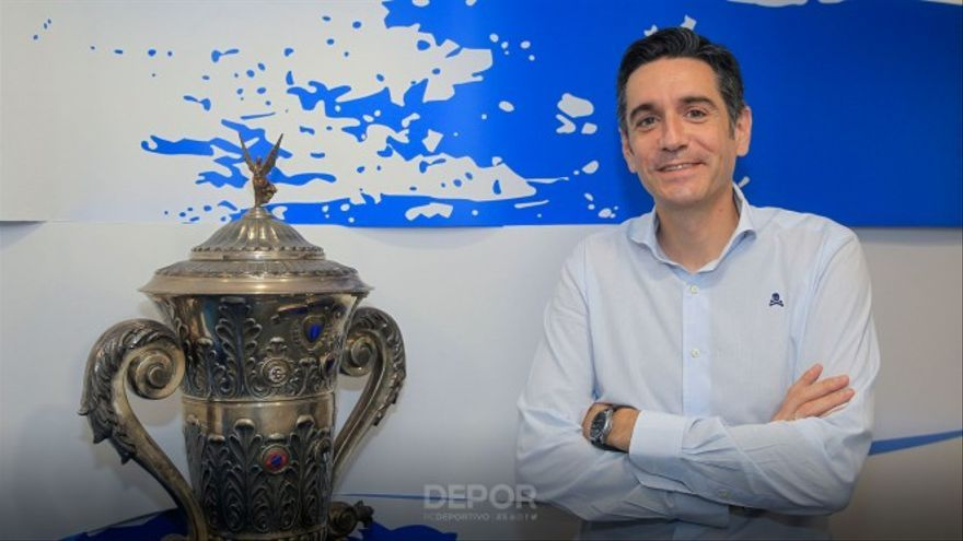 David Villasuso, nombrado consejero del Deportivo