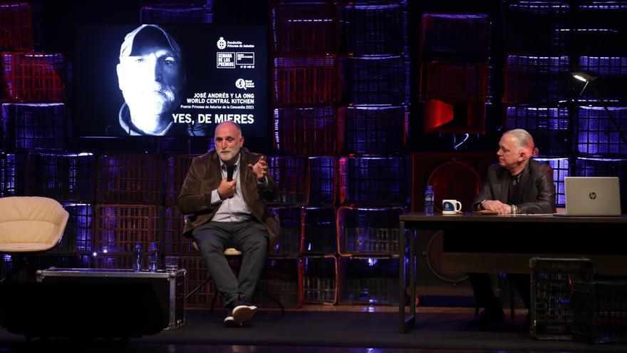 """José Andrés lo ha vuelto a hacer: pone en pie el centro cultural de Mieres con el """"Asturias patria querida"""""""