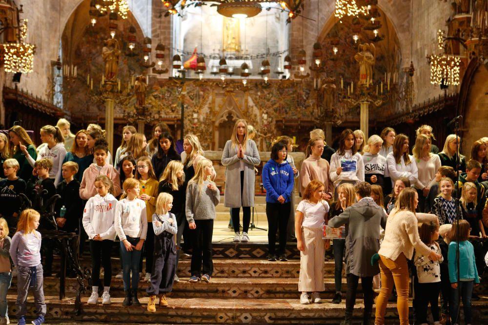 Ensayo general del concierto de Santa Lucía en la Catedral