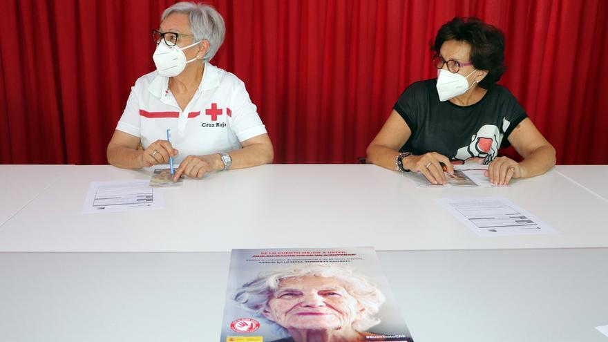 """Cruz Roja Zamora combate el """"edadismo"""" y lanza un programa para el """"buen trato"""" de las las personas mayores"""