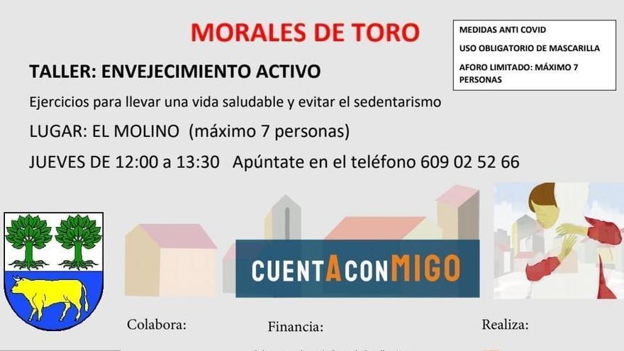 Morales de Toro fomenta el envejecimiento activo con un taller de hábitos saludables