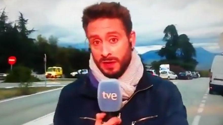 """El lapsus de un reportero de TVE: """"Franco descansará junto a Carmen Calvo"""""""