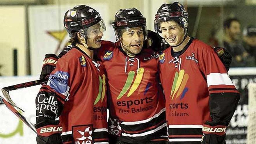 El Espanya pelea hoy por el título de Copa de hockey línea