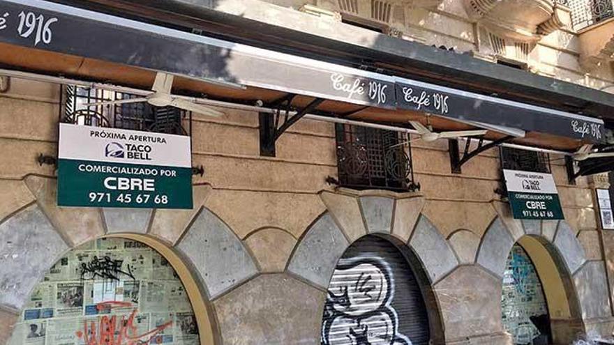 Fastfood-Kette Taco Bell übernimmt Traditions-Café an Plaça d'Espanya