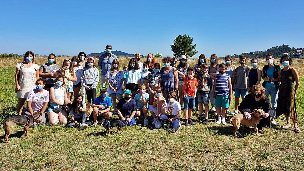 Os participantes de Encáixate nunha excursión.  | // FDV