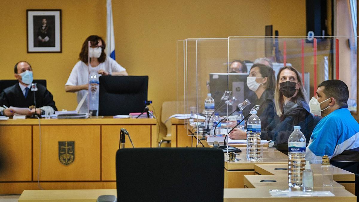Imagen de la sala donde se celebra el juicio con Tribunal de Jurado.