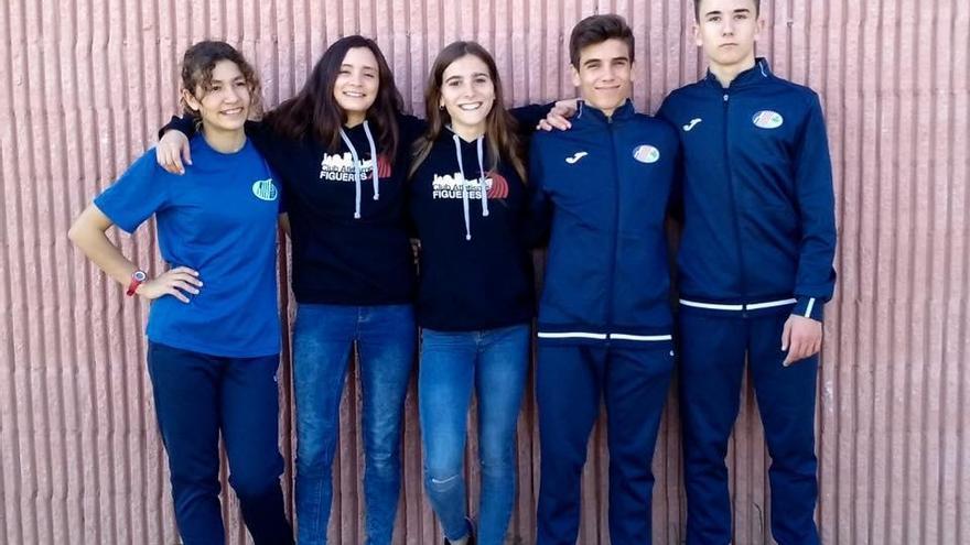Radsma, González i Bossa, finalistes de l'Estatal cadet