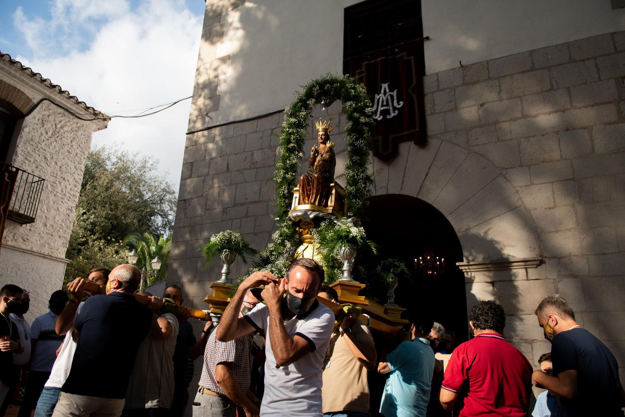 Todas las fotos de la 'baixà' y la Crida a la Festa de Vila-real