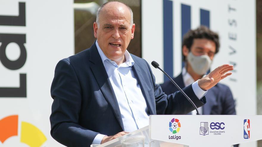 """La Liga estudia cambios para """"protegerse mejor"""" contra la Superliga"""