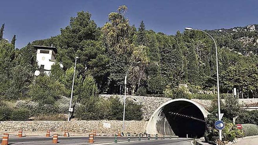 El túnel de Sóller se cerrará por las noches para efectuar obras de mejora