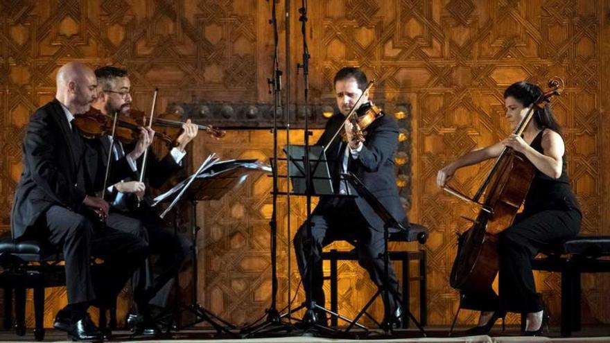 El Cuarteto Quiroga defiende a Beethoven en Pollença