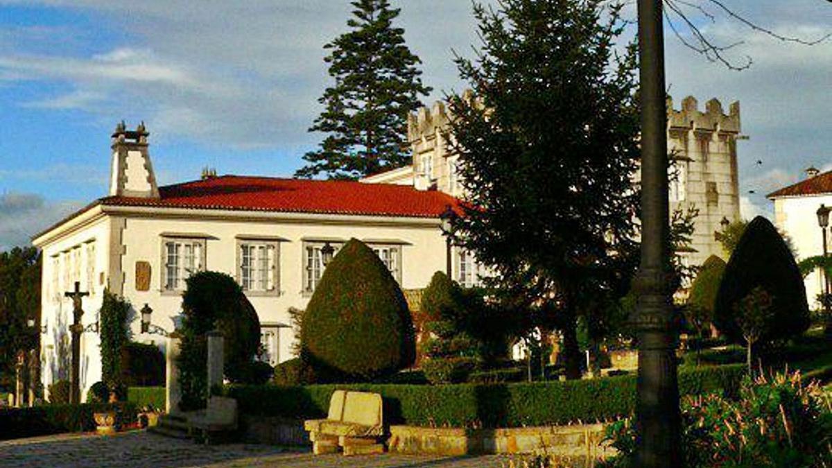 Vistas del pazo de Armuño, en la localidad coruñesa de Bergondo.