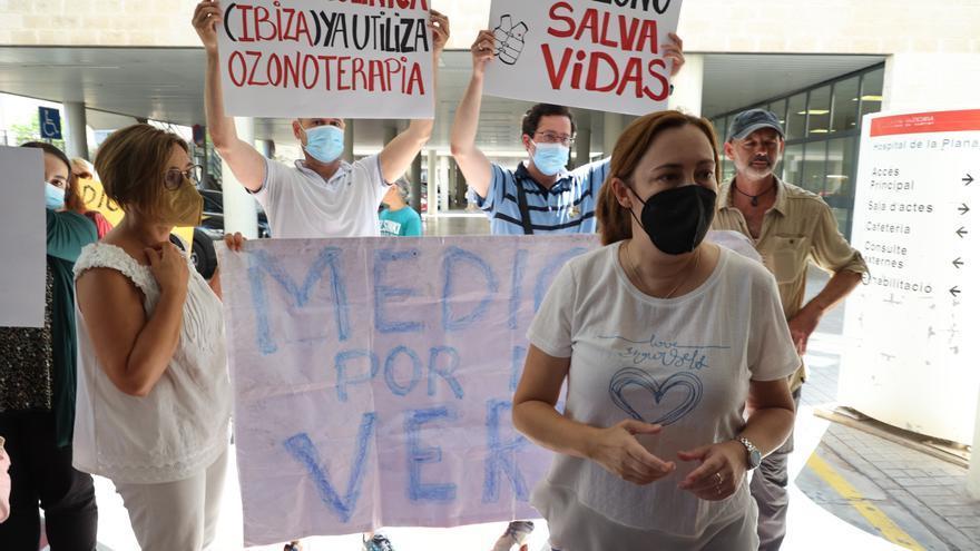 La Generalitat pide al juzgado el cese de la ozonoterapia al paciente covid de Castellón