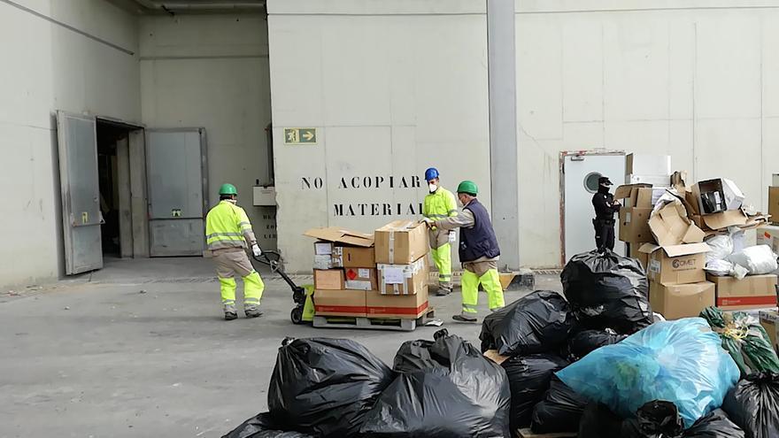 Incinerados unos 3.000 kilos de droga en la incineradora de Son Reus