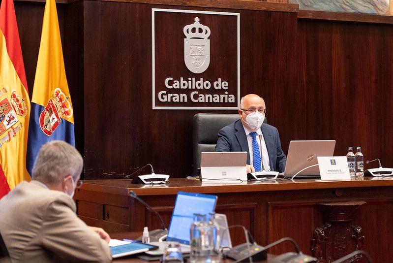 Pleno del Cabildo de Gran Canaria (26/03/2021)