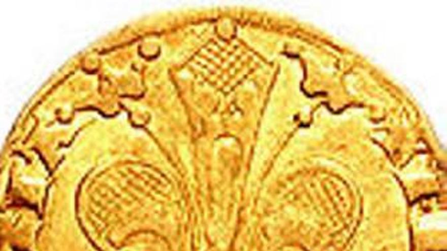 Cullera exhibirá un raro florín de oro