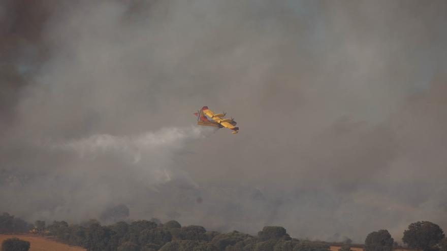La alerta de incendios forestales se prolonga hasta el 10 de agosto