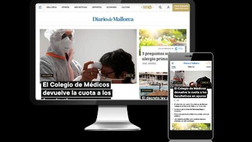 Aprovecha la oferta para beneficiarte de la suscripción anual a Diario de Mallorca por solo 0,07 euros al día