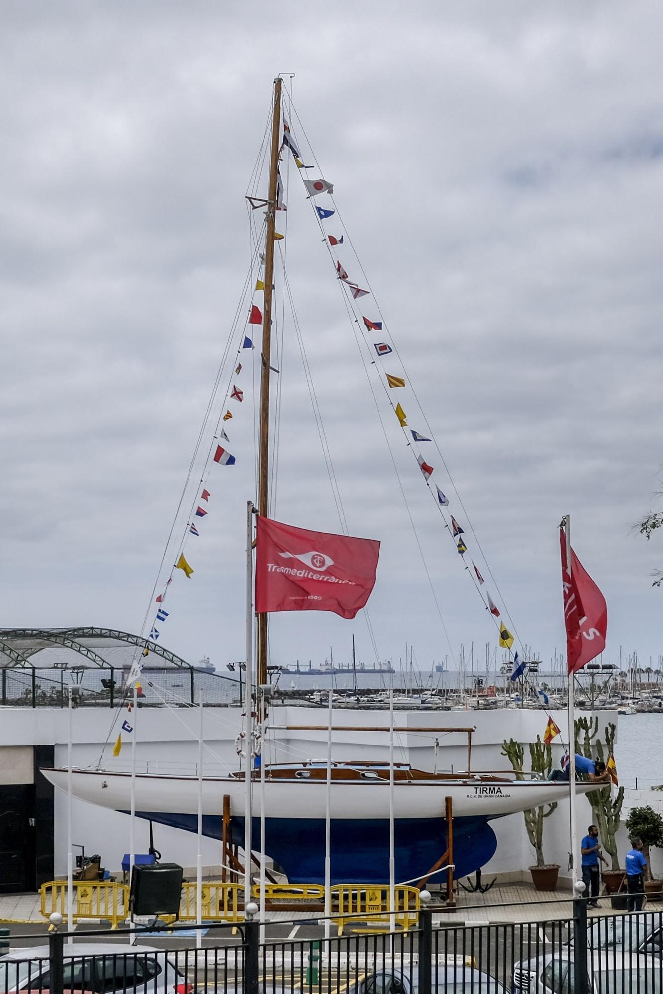 Restauración del barco Tirma