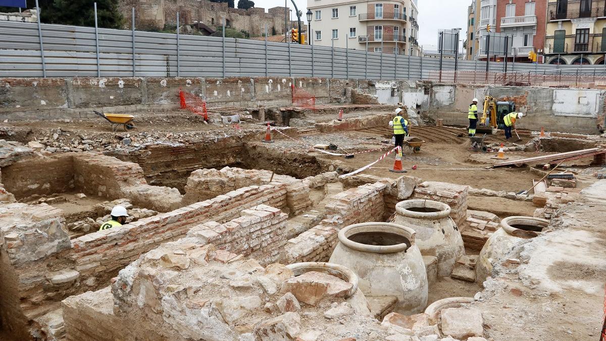 Imagen de las excavaciones del Astoria