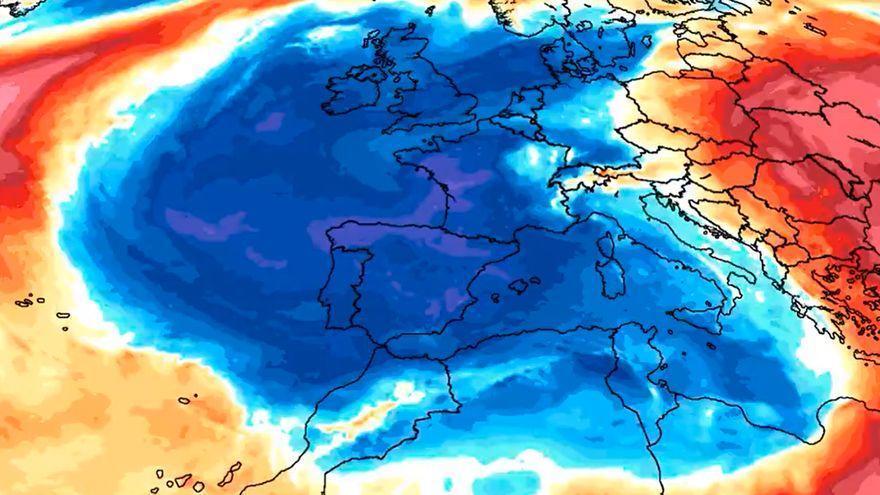Una burbuja de aire ártico regalará en Reyes una nevada insólita