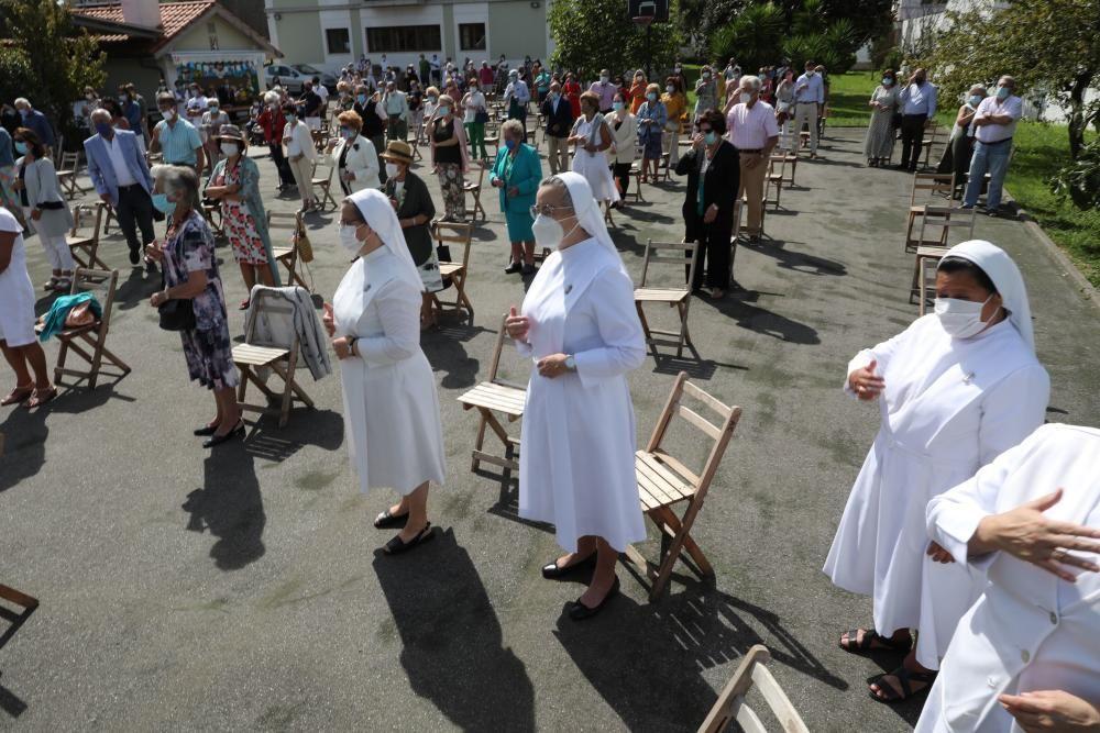 La Guía celebra su misa por la patrona