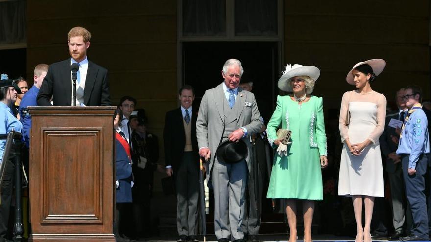 Los duques de Sussex reaparecen tras su boda