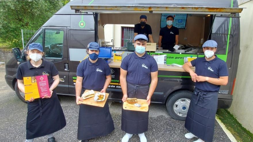 El Carlos Oroza presume de food truck