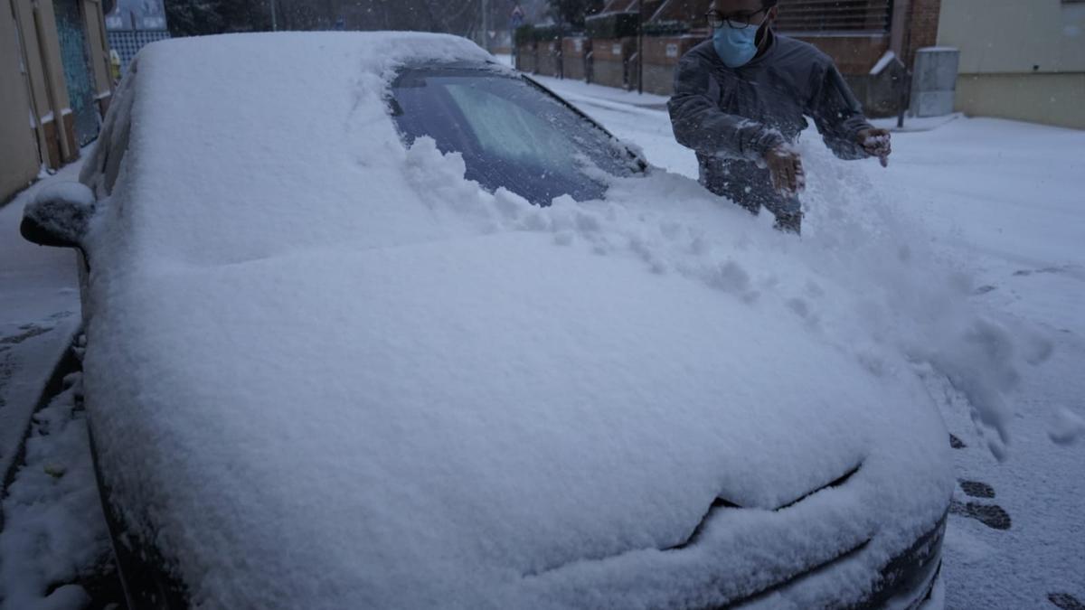 GALERÍA   Filomena en Zamora, las imágenes del temporal