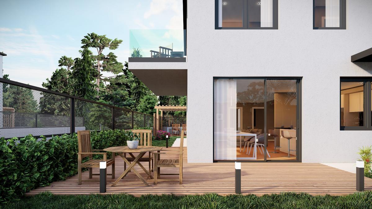 Modelos de chalés y pisos que diseña Arco da Vella, con luz y espacios al aire libre (2).jpeg