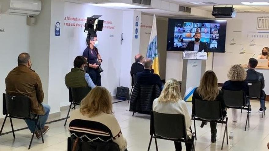 Fernando Clavijo es elegido nuevo secretario general de CC