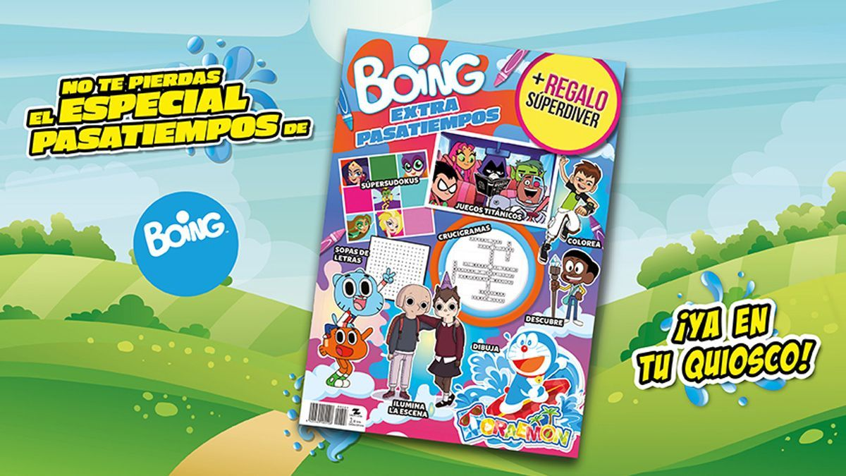 Boing's Extra Hobbies comes with endless activities.