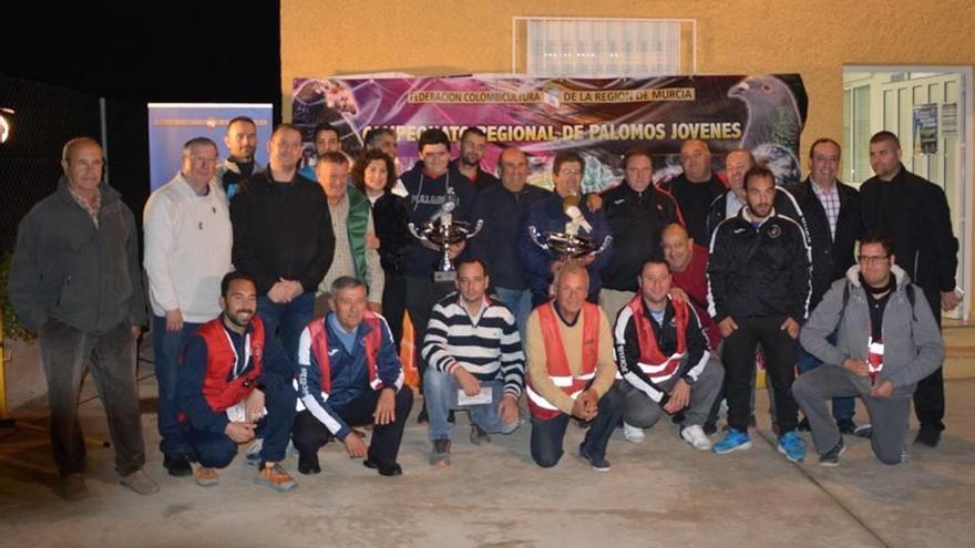 '59 Segundos' gana el primer Regional para palomos jóvenes de la Federación