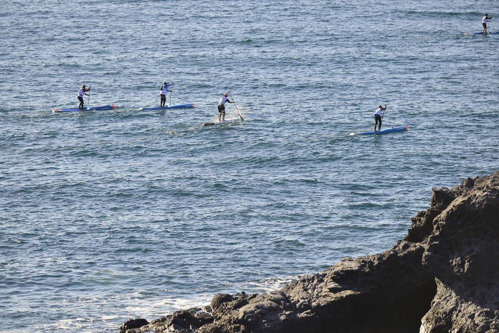 Campeonato de paddle-surf en Cabo de Palos