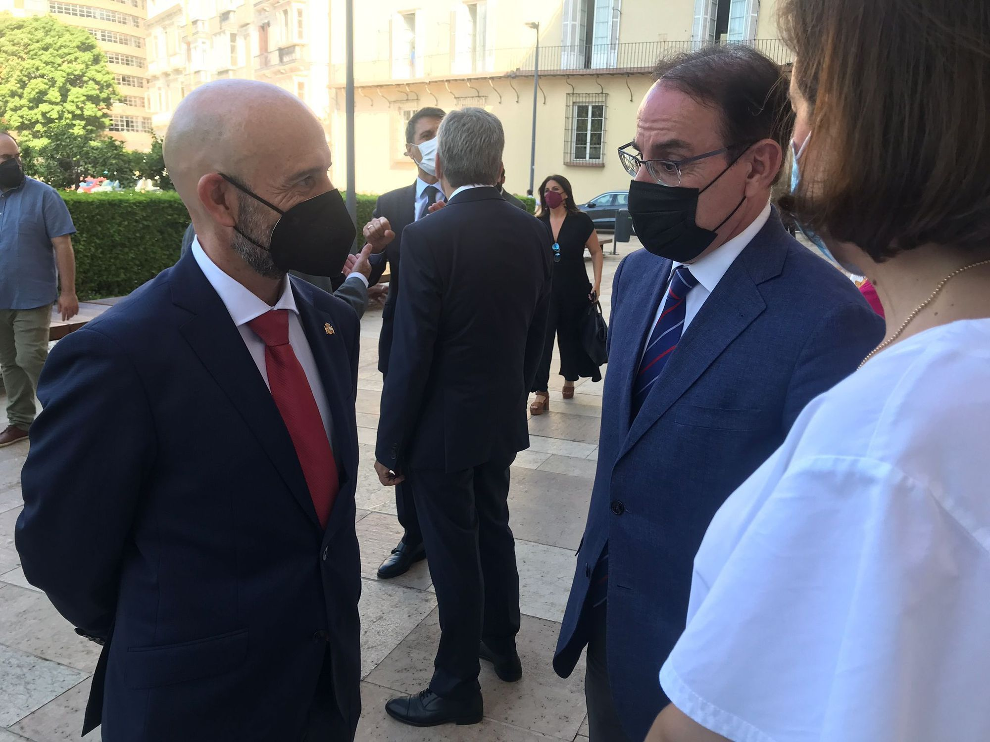 Toma de posesión del nuevo subdelegado del Gobierno en Málaga, Javier Salas