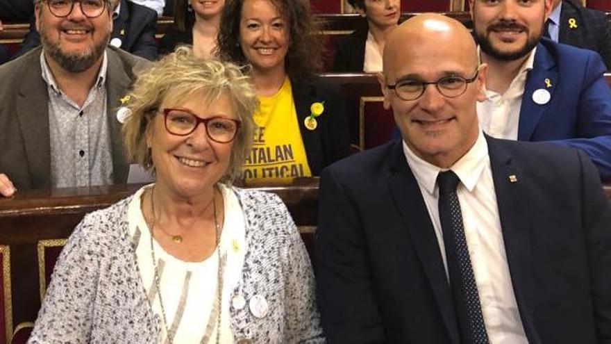 La Mesa del Senat suspèn Raül Romeva