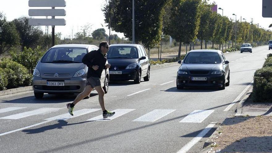 El 60% de atropellos se da cruzando pasos de peatones