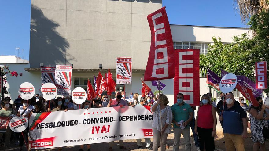 CCOO reclama el desbloqueo del convenio de la dependencia, estancado desde 2019