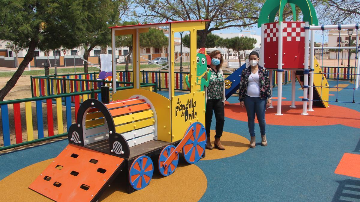 Parque infantil en San Pedro
