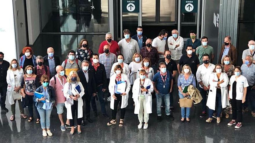 Los alcaldes, contra los movimientos empresariales en el hospital de Dénia